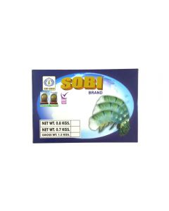 Sobi Fresh Water King Prawns Head Less Shell On 6-8 700g
