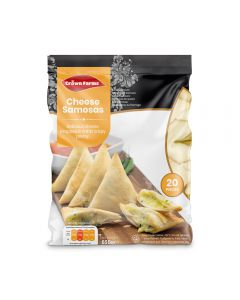 Crown Farms Cheese Samosas 20pcs