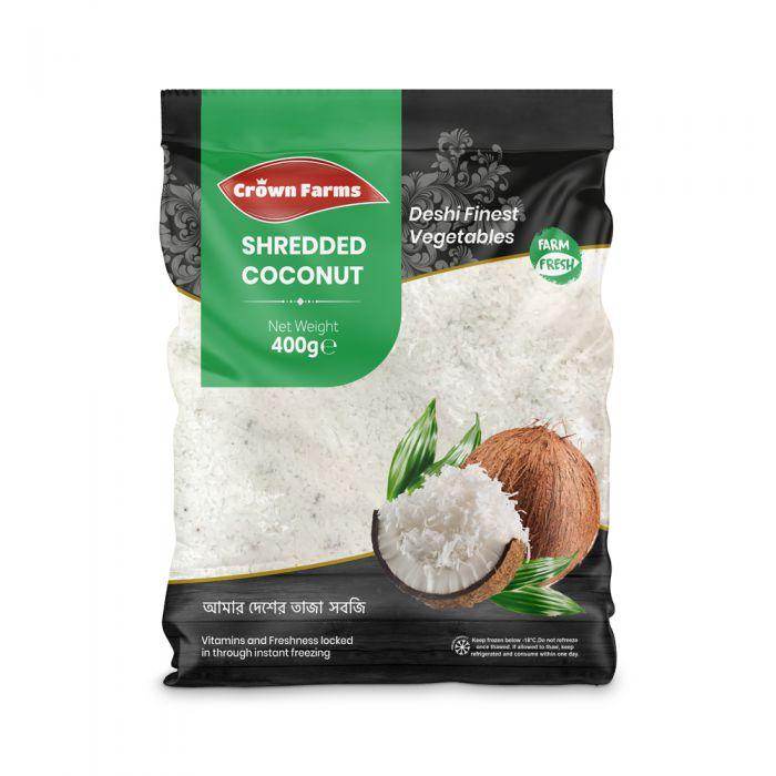 Crown Farms Shredded Coconut (Premium) 400g