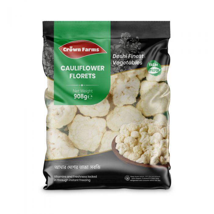 Crown Farms Cauliflower Florets 908g