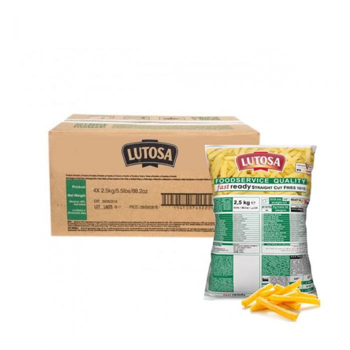 Lutosa Straight Cut Chips 3/8 2.5kg