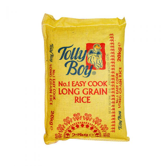 Tolly Boy Easy Cook Rice Hessian 20kg