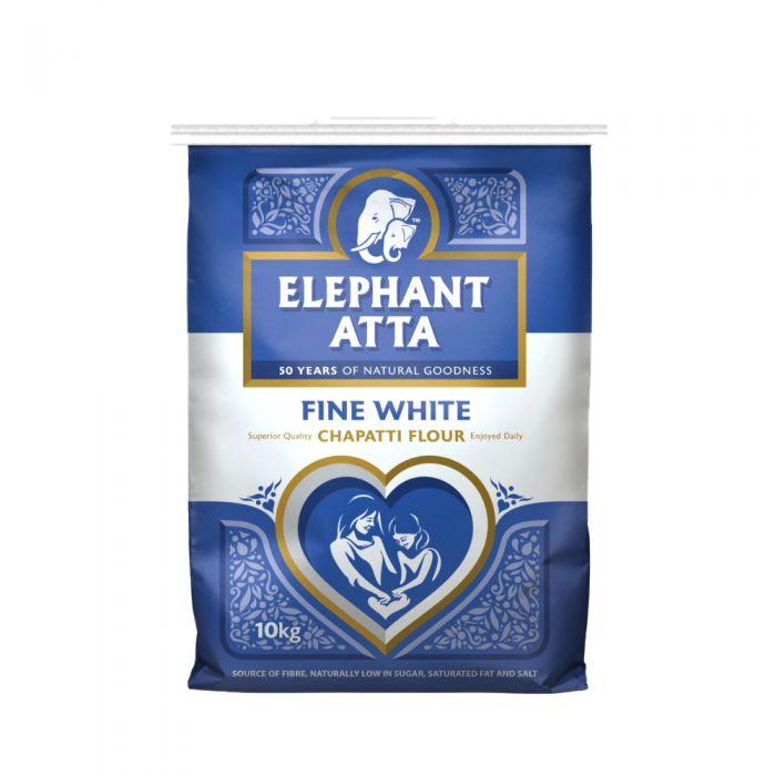 Elephant Atta Wheat (Chapatti) Flour White 10kg