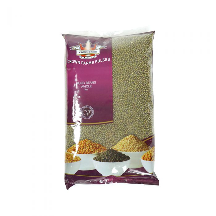 Crown Farms Mung Beans Whole 2kg