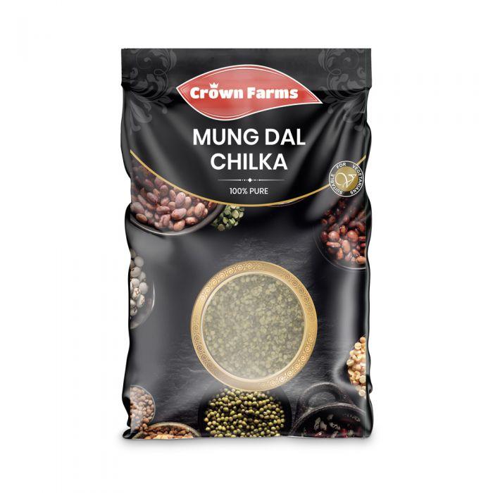 Crown Farms Mung Dal Chilka 1kg