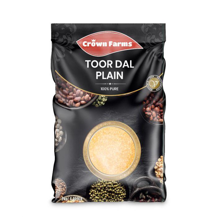 Crown Farms Toor Dal Plain 2kg