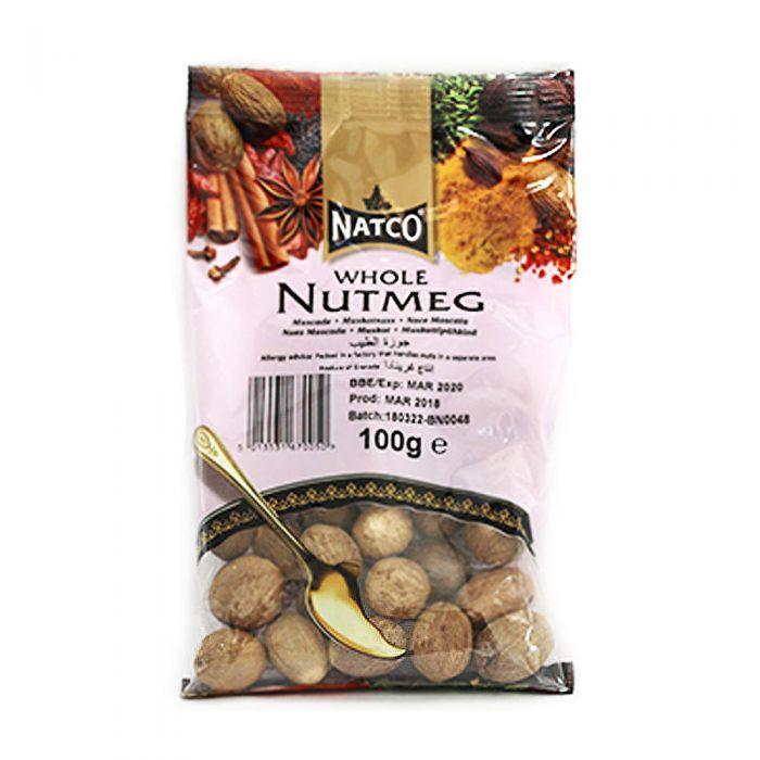 Natco Nutmeg Whole 100g