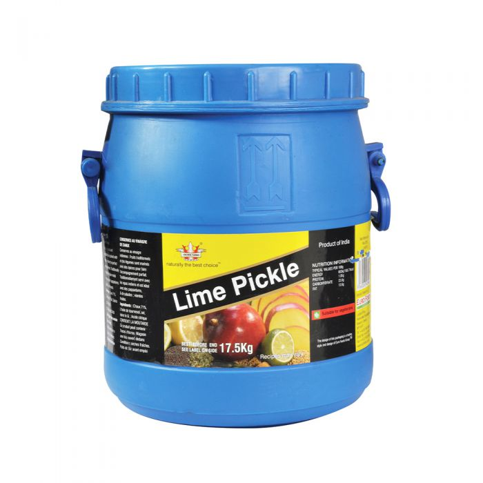 Crown Farms Lime Pickle Catering Barrel 17.5kg