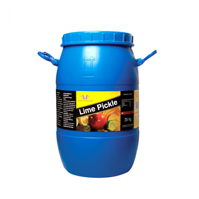 Crown Farms Lime Pickle Catering Barrel 35kg