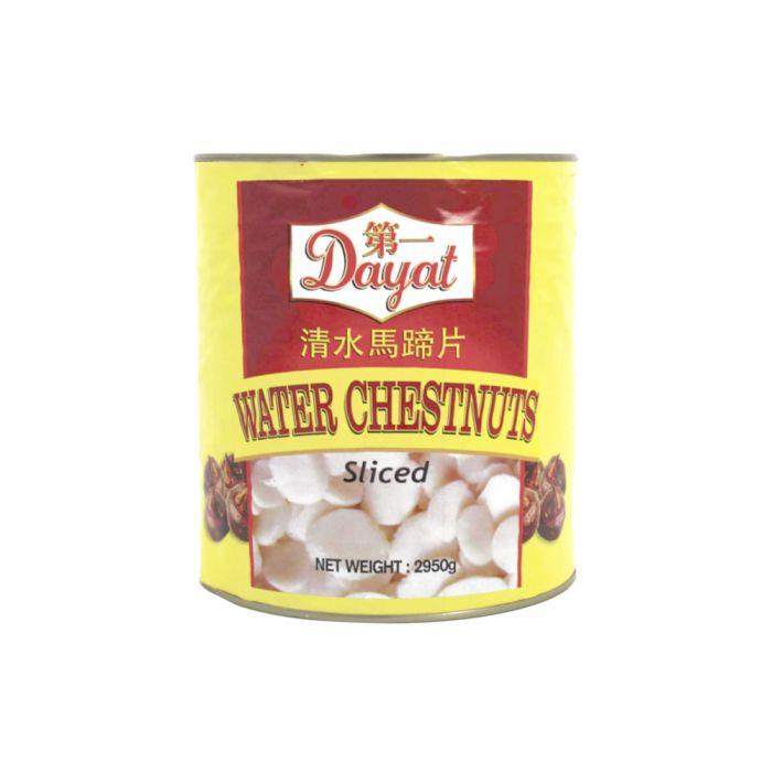 Dayat Water Chestunuts Sliced 2950g