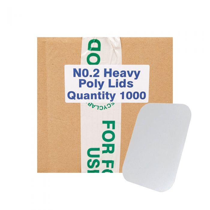 Amipak Extra Heavy Duty Lids No2 1000pcs