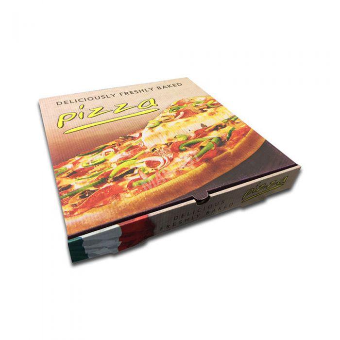 White Full Colour Pizza Box 15